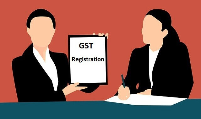 Image That Depicts The Online GST Registration Concept.